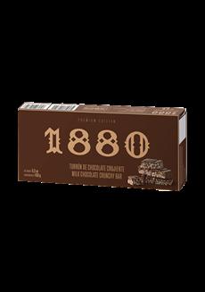 Nugat z mléčné čokolády a křupavé tyčinky Premium
