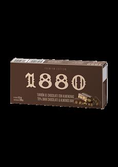 Nugat z hořké čokolády a mandlí Premium