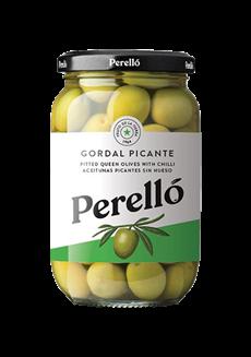 Olivy Gordal v sklenice