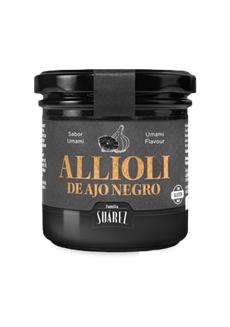 Černý česnek Allioli - příchuť Umami