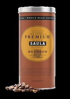 Premium Bourbon kávová zrna 500g