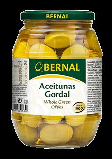 Olivy Gordal v sklenice 997ml