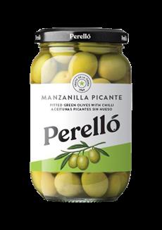 Olivy Manzanilla v sklenice