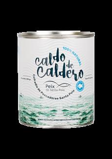 Rybí vývar Caldo de Caldero