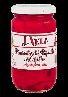 Pečené papriky Piquillo s česnekem