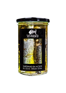 Sardinky v olivovém oleji